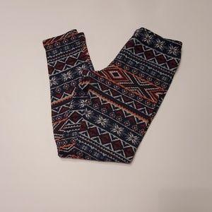 4/$30 Fleece lined leggings